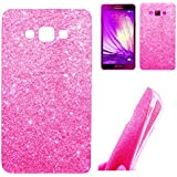 Novo Style Rich Sparkle Soft Silicone Glitter Back Cover Case For Samsung Galaxy j7 2016- Pink