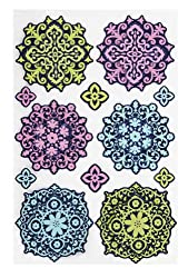 Martha Stewart Crafts Modern Damask Layered Ornament Stickers