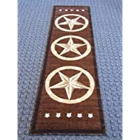 Texas Style Rug Runner 2 Ft. X 7 Ft. 3 In. Design 5457 Brown