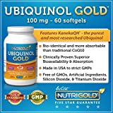 Ubiquinol GOLD, 100 mg, 60 Softgels - Kaneka QH Ubiquinol CoQ10