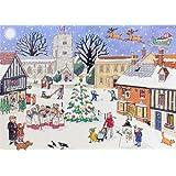 Alison Gardiner Traditional Advent Calendar: Christmas in the Village