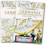 echange, troc Joan Blaeu, Peter Van Der Krogt - Atlas maior of 1665 Coffret en 2 volumes : Tome 1, Germania ; Tome 2, Germania, Austria & Helvetia
