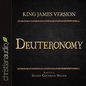 Holy Bible in Audio - King James Version: Deuteronomy Audiobook