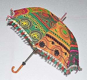 Traditionelle indische sun umbrella accessory damen sommer for Indische sonnenschirme