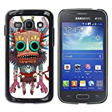 Slim Design Hard PCAluminum Shell Case Cover for Samsung Galaxy Ace 3 GT S7270 GT S7275 GT S7272 Monster Native Witch Voodoo Doll Skull JUSTGO PHONE PROTECTOR