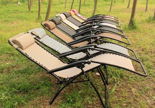Fauteuil de jardin transat chaise longue pare soleil | Sortir en allier