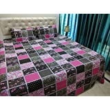 JMT(100% Heavy Stuff Pure Cotton Double Bedsheet With 2 Pillow Cover,size -230x250 Cms, Pillow - 69x46 Cms) - B074D3C7ZQ