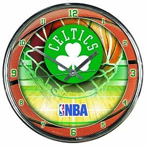 NBA Boston Celtics Chrome Clock by WinCraft