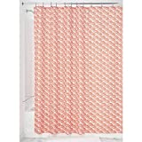 InterDesign Lyssa Shower Curtain, Sunburst