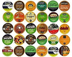 30-count Decaf Coffee Single Serve Cups For Keurig K Cup Brewers Variety Pack Sampler