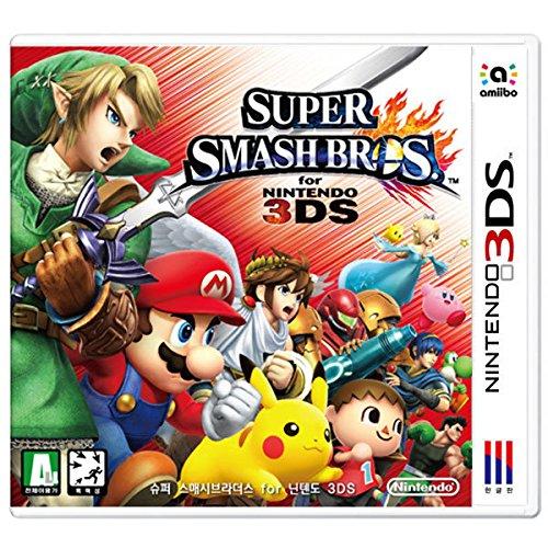 大乱闘 スマッシュ ブラザーズ for ニンテンドー 3DS Super Smash Bros for Nintendo 3DS (輸入版:韓国)(日本版本体動作不可) [並行輸入品]