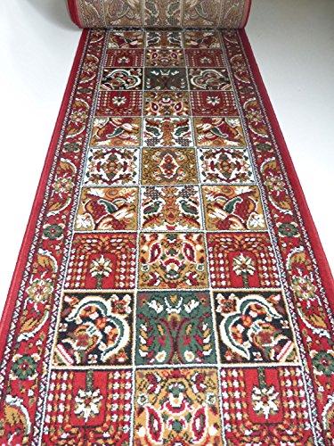 teppich l ufer auf ma rot felder 645 lfm 19 90 euro breite 100 x 120 cm. Black Bedroom Furniture Sets. Home Design Ideas