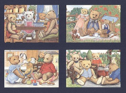 teddy-bear-familles-cartes-postales