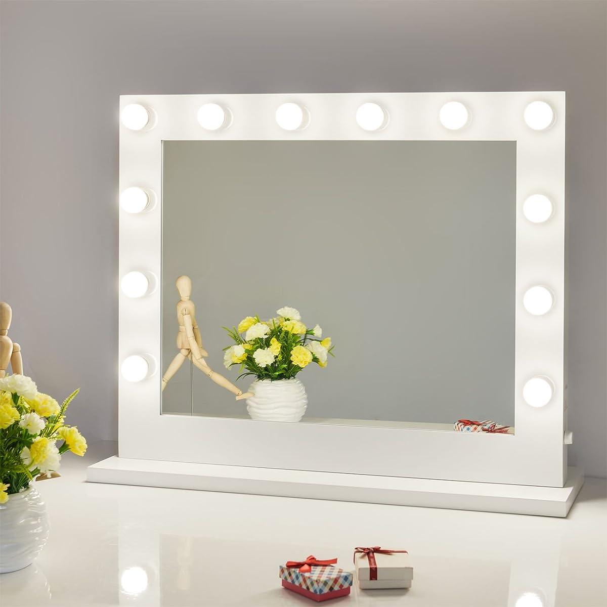 Hollywood Lighted Makeup Vanity Mirror Light