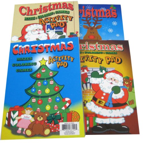 Holiday Activity Pads Case Pack 24