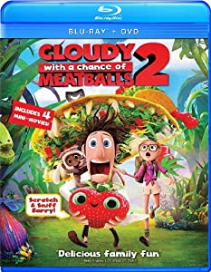 Amazon.com: Cloudy with a Chance of Meatballs 2 (Two Disc Combo: Blu-ray / DVD + UltraViolet Digital Copy): Bill Hader, Anna Faris, Will Forte, Neil Patrick Harris, James Caan, Andy Samberg, Benjamin Bratt, Terry Crews, Kristen Schaal, Cody Cameron, Melis