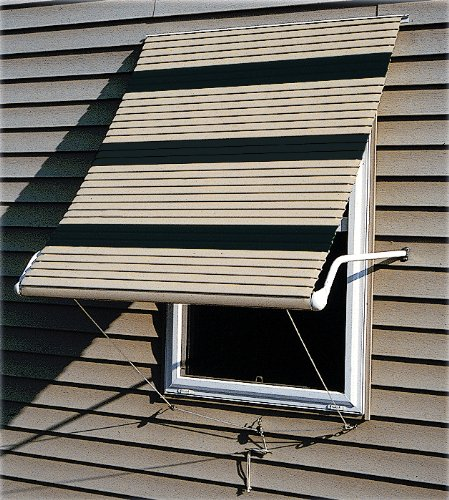 Aluminum Roll-Up Window Awnings