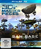 3D Masterpieces: San Base - Function of Reality [Blu-ray]