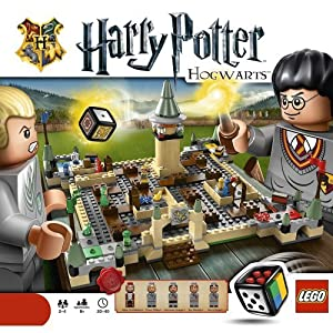 LEGO Harry Potter game: Hogwarts board game!