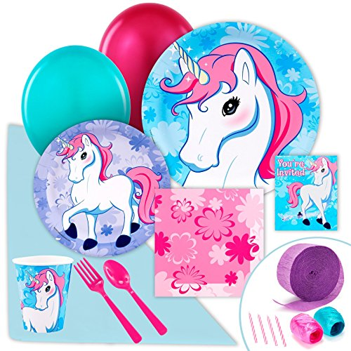 Enchanted-Unicorn-Party-Supplies-Value-Party-Pack