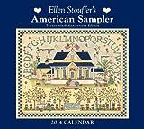 img - for Ellen Stouffer's American Sampler 2014 Deluxe Wall Calendar book / textbook / text book