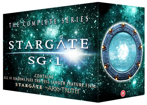 Stargate Sg-1 – Seasons 1-10 and the Ark of Truth