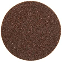 "Scotch-Brite Surface Conditioning Disc, Hook and Loop Attachment, Aluminum Oxide, 5"" Diameter, NH A Coarse (Pack of 50)"