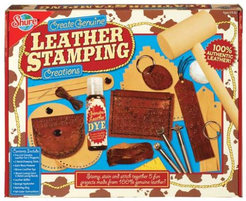 T.S. Shure Genuine Leather Stamping Creations Kit