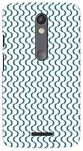 Kasemantra Illusion Of Wave Case For Motorola Moto X3