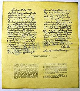 Ethan Allen Letter, May 12, 1775