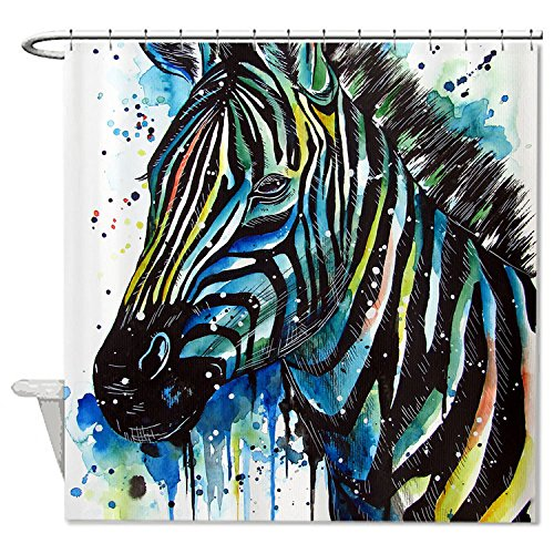 whiangfsoo-zebra-watercolour-paintingt-home-decro-polyester-bath-shower-curtain-72x72