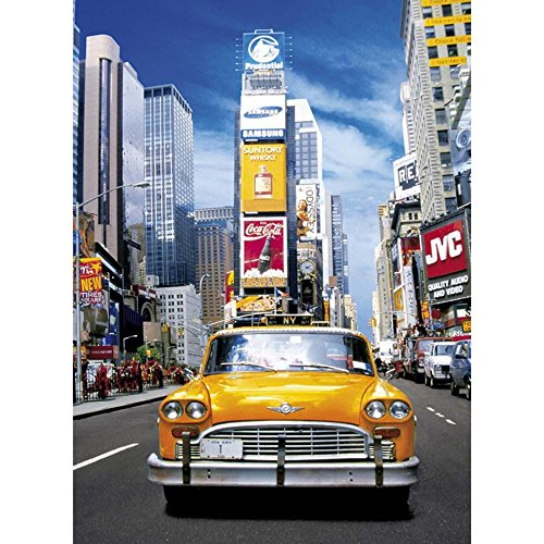 Clementoni Taxi in Time Square New York Puzzle (500-Piece) - 1