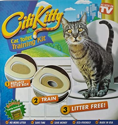 Cat Toilet Potty Training Kit