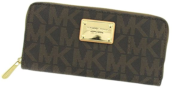 MICHAEL Michael Kors Mk Logo Zip Around Continental -- $119.99