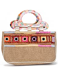 Handbags - Evening Bags- Funky Cane - Gold Color - By Stylocus