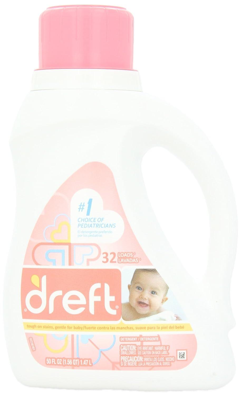 Dreft Baby Liquid Laundry Detergent 32 Loads 50 Fl Oz