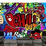 Non-woven !! Top !! Photo wallpaper ! Murals ! Wall Mural Photo !! 100x70 cm - Graffiti 10110905-11 ! Free glue for each wallpaper !