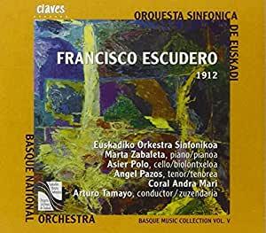 Francisco Escudero: Basque Music Colletion, Vol. 5