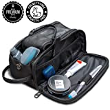 Toiletry Bag for Men or Women - Dopp Kit For Travel. Cruelty Free Toiletries Organizer PU Leather Bags (Color: Black, Tamaño: 10.5L in x 5.5H in x 6W in)