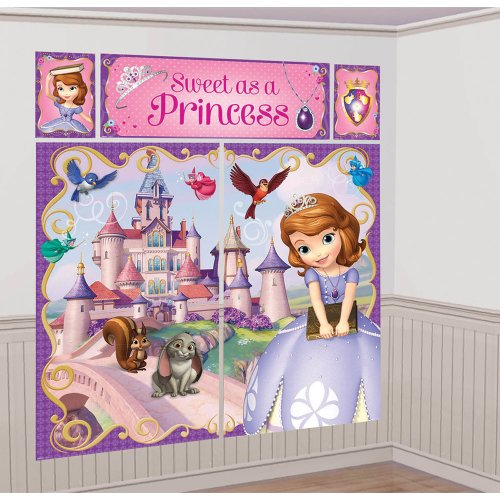 Sofia the First Scene Setter - Birthday and Theme Party Supplies