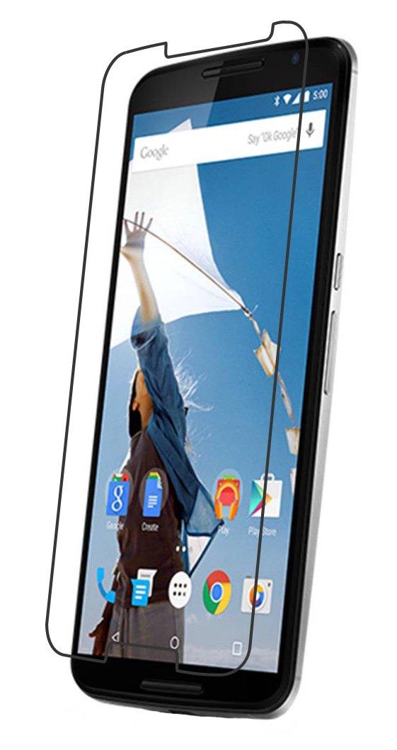 Pellicola vetro temperato Nexus 6 screen protector