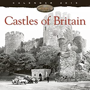 Castles of Britain wall calendar 2015 (Art calendar) (Flame Tree Publishing)