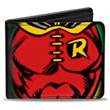 Buckle-Down Bifold Wallet Robin (Color: Robin, Tamaño: 4.0