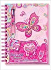 Pecoware  Creative Journal with Accessories Fancy Butterfly