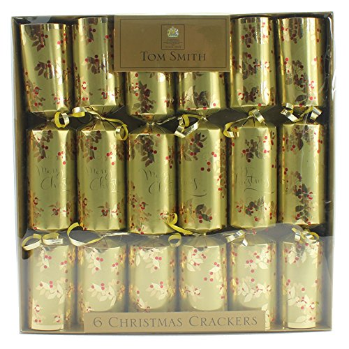 pack-of-6-x-125-tom-smith-christmas-crackers-gold-with-wide-barrel