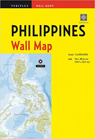 Philippines Wall Map First Edition (Periplus Wall Maps)