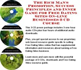 img - for The Rich Man's Promotion, Success Principles and Inner Game for Free Dating Sites On-line Businesses 3 CD Course book / textbook / text book
