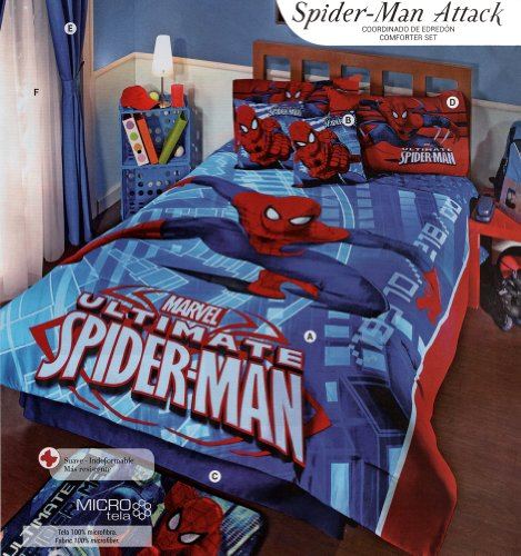 Spiderman Comforter Full