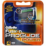 Gillette - 75067908 - Lames  Fusion - Proglide Power pack de 4 Lamespar Gillette