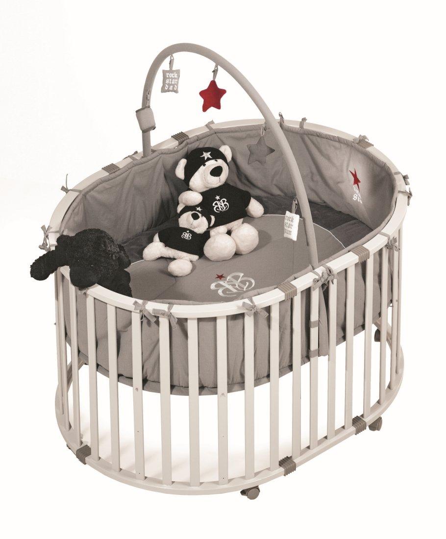 ROCK STAR BABY 1 Laufgitter oval bestellen